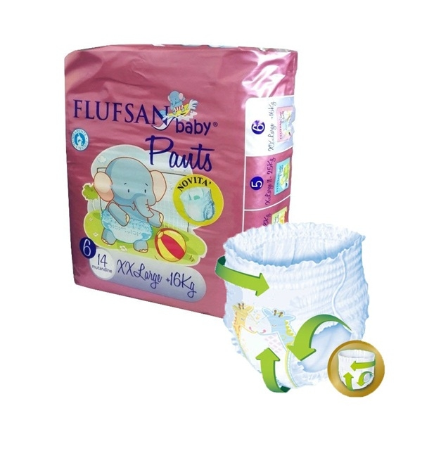 Flufsan Baby Pants Up&Go